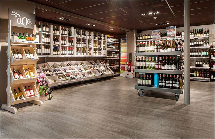 coretec houten vloer in winkel